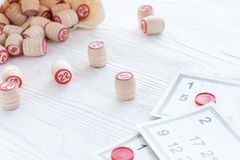 Lotto för brädelek Fotografering för Bildbyråer