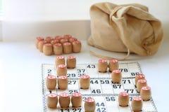 Lotto för tappningbrädelek, kaggar som är trä Royaltyfri Foto