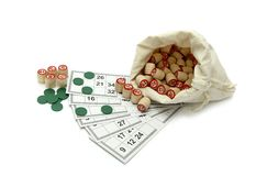 Lotto game Stock Image