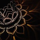 Lotus światło obraz stock