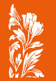 Lotus & εκλεκτής ποιότητας στοιχεία Στοκ Εικόνες