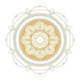 Lotus διακοσμητική διακόσμηση στοκ φωτογραφίες με δικαίωμα ελεύθερης χρήσης
