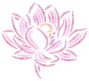 Lotus abstract Royalty Free Stock Image