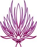 lotus abstrait illustration libre de droits