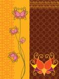 Lotus Banners Stock Photos