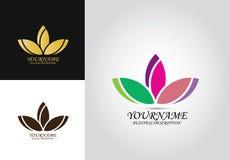 Lotus Barwił projekta logo ilustracji
