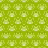 Lotus-bloem als symbool van yoga Royalty-vrije Stock Foto's