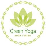 Lotus-bloem als symbool van yoga Royalty-vrije Stock Foto