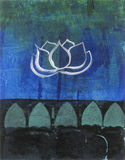Lotus Blossom royalty free illustration