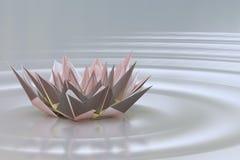 A lotus blossom Stock Photos
