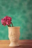 Lotus-Blume in einem Vase Stahl-Leben Stockbild