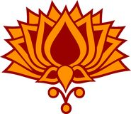 Lotus-Blume stock abbildung
