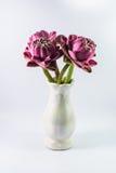 Lotus-Blumen auf Vase Stockbilder