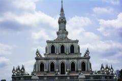 Lotus Bud shape Stupa Royalty Free Stock Images