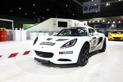 Lotus car on display at Bangkok International Auto Salon 2013 Stock Photo