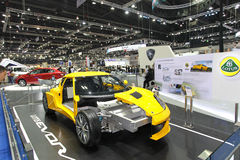 Lotus car display Thailand International Motor Expo 2013 Royalty Free Stock Image