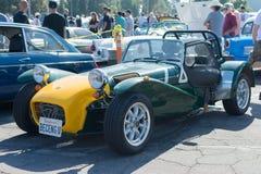 Lotus 7 car on display Royalty Free Stock Images