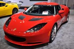 Lotus Car Exhibit Stock Images