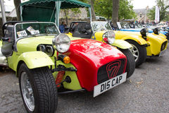 Lotus / Caterham 7 cars Royalty Free Stock Photo