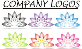 Lotus Company Logos Royalty-vrije Stock Afbeelding