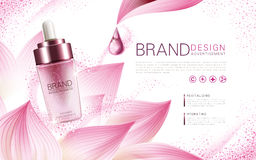 Lotus cosmetic product Stock Photos
