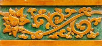 Lotus de bloqueio de vidro fino Fotografia de Stock Royalty Free