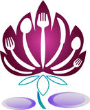 Lotus de Dinning illustration stock