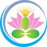 Lotus de méditation Images libres de droits