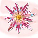 Lotus, dekoracyjny Fotografia Stock