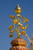 Lotus dourado, templo de Tailândia Imagens de Stock