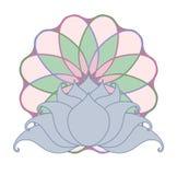 Lotus e mandala Foto de Stock