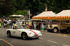 Lotus Elan at Bergamo Historic Grand Prix 2015 Royalty Free Stock Photography