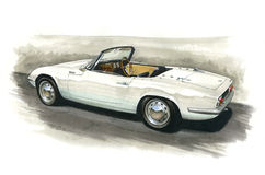 Lotus Elan Royalty Free Stock Photos