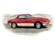 Lotus Elan Sprint illustration stock