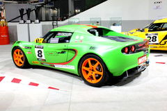 Lotus Elise on display Stock Photo