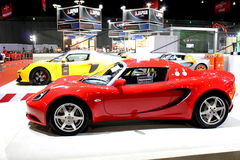 Lotus Elise on display Stock Images