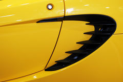Lotus Elise: Side Vent. Detail royalty free stock images