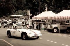 Lotus Elite à Bergame Grand prix historique 2015 Photo libre de droits