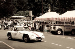 Lotus Elite at Bergamo Historic Grand Prix 2015 Royalty Free Stock Photo