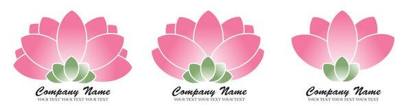 Lotus-embleem Stock Afbeelding