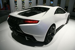 Lotus Esprit Concept at Paris Motor Show Stock Image