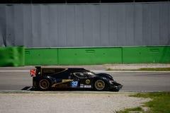 Lotus 2012/essai prototype de Lola LMP2 à Monza Photographie stock libre de droits