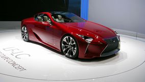 Lexus LF-LC Geneva 2012 Royalty Free Stock Photography