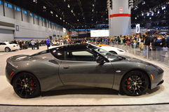The Lotus Evora IPS 2+2 on dispay at the Chicgago Auto Show Royalty Free Stock Photos