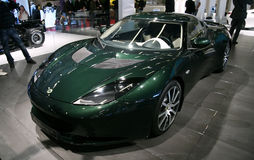 Lotus Evora IPS  at Paris Motor Show Royalty Free Stock Photography