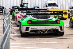 Lotus Evora race car Stock Image