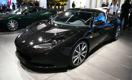 Lotus Evora S at Paris Motor Show Royalty Free Stock Photos