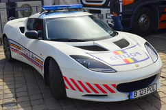 Lotus Evora S police car Stock Photos