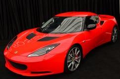 Lotus Evora S at SIAMB 2012 royalty free stock image