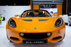 LOTUS EXIGE CUP 260 on display Royalty Free Stock Photography